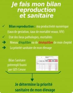 Bilan reproduction et sanitaire