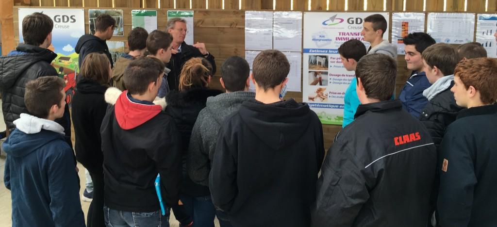 2016 03 29 Lycée Agricole Journée agroécologie DG